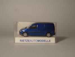 Rietze H0 21800 VW Caddy Maxi Kasten (blau)
