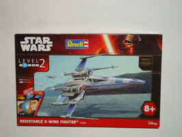 Revell 06696 Resistance X-Wing Fighter Star Wars | Bausatz 1:50