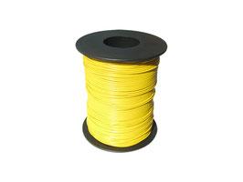 100 Meter Miniaturkabel Litze flexibel LIY 0,14 mm² gelb