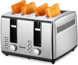 Brewsly Toaster   Automatik Toaster   Defrost Funktion
