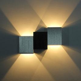 LED Wandleuchte Cube