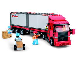 Sluban Town Truck 345 Teile