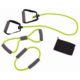 Fitnessbänder 3er Set Grün