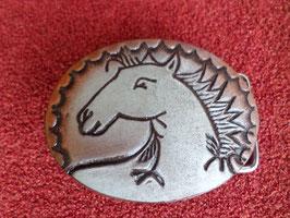 Boucle de ceinture tête de cheval