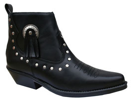 Chaussures de danse Santa Fe 13484 en cuir noir