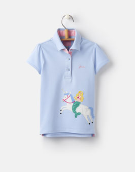 """Joules, Mädchen Poloshirt """"MOXIE"""", Blau"""