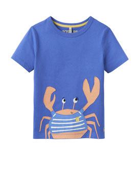 """Joules Jungen T-Shirt Archie """"Crab"""", Blau"""