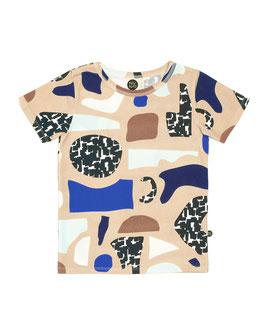 """Mainio, Mädchen Jersey T-Shirt """"Aho"""", Beige"""
