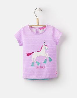 "Joules, Mädchen T-Shirt ""Maggie"", Sea Horse"