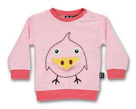 """Ubang, Baby Langarmshirt """"Birdie"""", Rosa"""