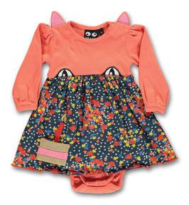 Ubang, Party Cat Dress, Peach