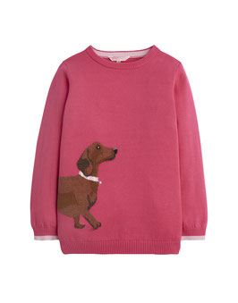"Joules, Pullover ""Meryl"" Dackel, Pink"