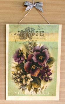 """Vintage """"Pansies"""""""