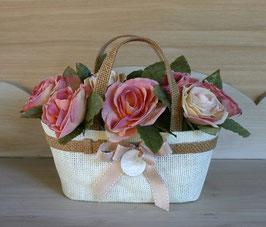 Chache-pot rose