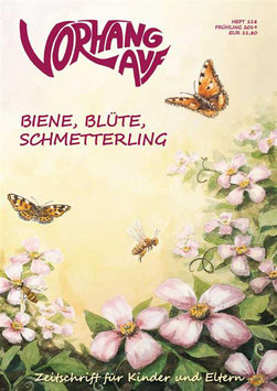 Biene, Blüte, Schmetterling