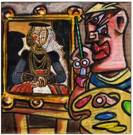 Pablo Picasso malt Cranach