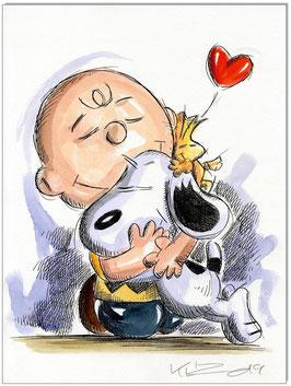 Charlie, Snoopy & Woodstock