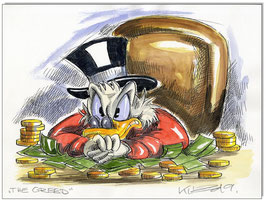 Uncle Scrooge: The Greed