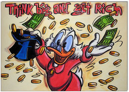 Uncle Scrooge: Think big and get rich!