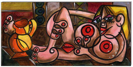 PICASSO Style Erotic Art 13