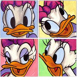 Daisy Duck Faces I