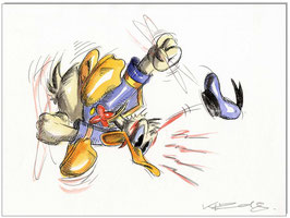Donald Duck in Rage V