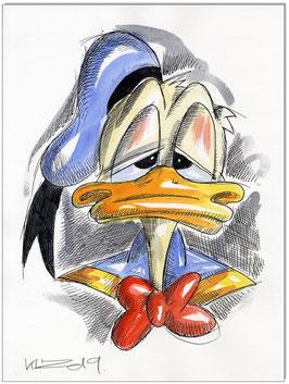 Donald Duck Faces VI