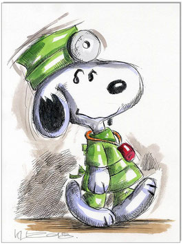 Snoopy Doctor Beagle II