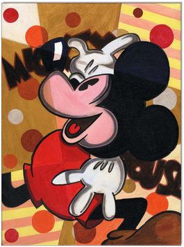 CUBISTIC Mickey Mouse I