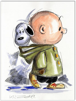 Charlie & Snoopy rainydays
