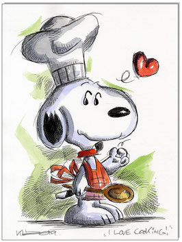 Snoopy I love cooking!
