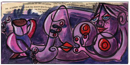 PICASSO Style Erotic Art 16