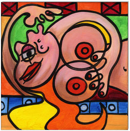 PICASSO Style Erotic Art 8