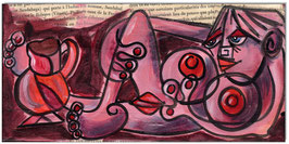 PICASSO Style Erotic Art 14