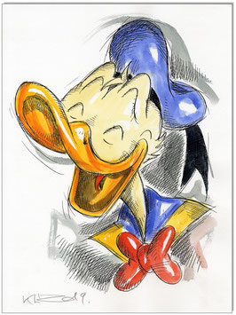 Donald Duck Faces IX