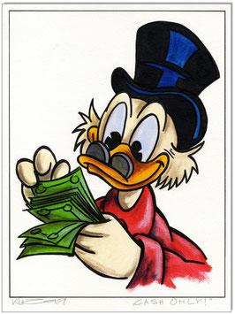DAGOBERT: Cash only!