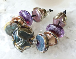 Mixed Bling Set - Bling and Bubbles - 11 Beads