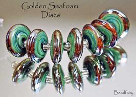 Golden Seafoam Discs