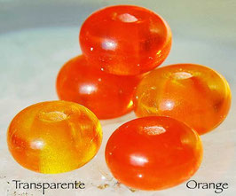 Tangerine Rounds , diverse orange colors Spacer