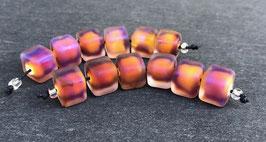 1 Pair Glowing Sunset Cubes