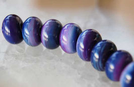 8 Dark Purple Rounds 11.5mm - 12mm