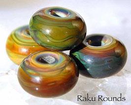 5 Raku Rounds