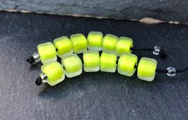 6 Neon Green Cubes