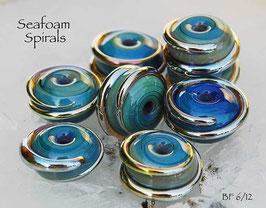 10 Seafoam Spirals