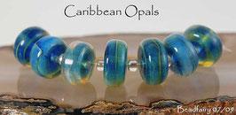 7 Caribbean Opals Rolo