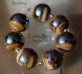 7 Earthy Bling Spheres