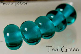 Teal Green Spacer Beads
