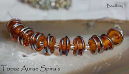 10 Topaz Aurae Spirals