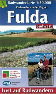 Radwanderkarte der Region Fulda Südwest (Restauflage / Solange der Vorrat reicht.)