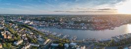 "Flensburg Panorama ""High Above"" – Alubond"